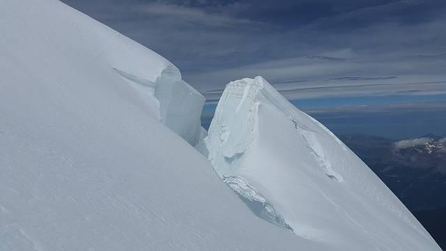 Glacier Crevasses Seracs - Free photo on Pixabay (701671)