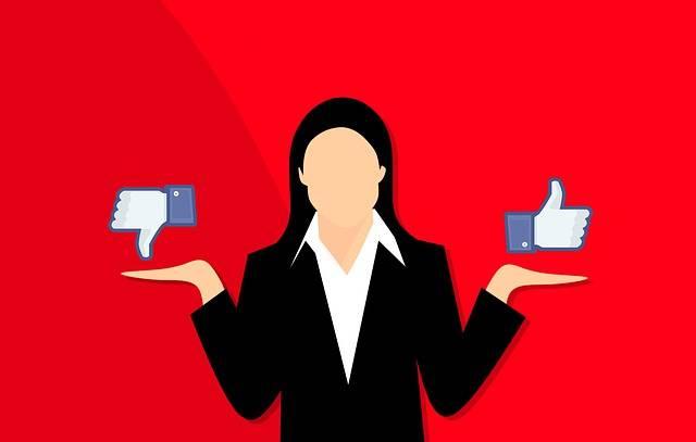 Vote Like Dislike - Free image on Pixabay (701909)