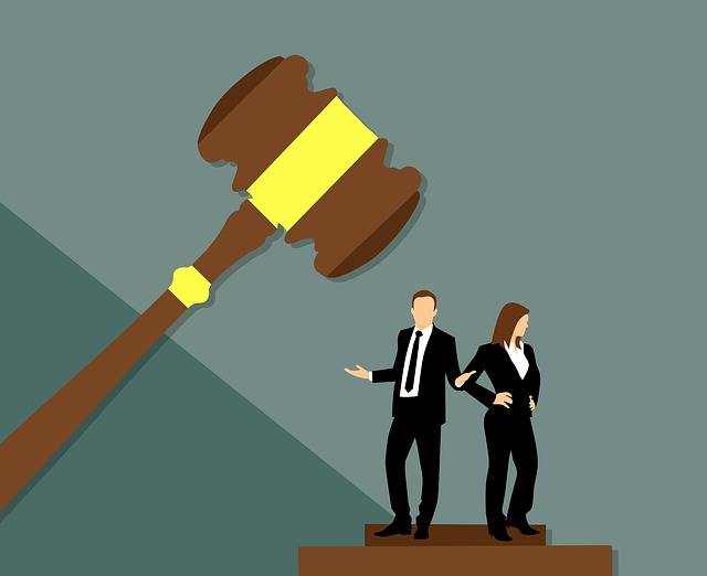 Divorce Separation Judge - Free image on Pixabay (703217)