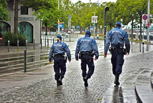 City Police Street - Free photo on Pixabay (703402)