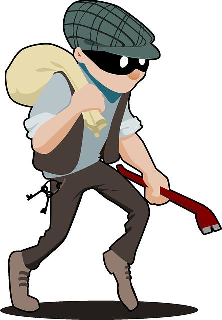 Burglar Crime Criminal - Free vector graphic on Pixabay (703442)