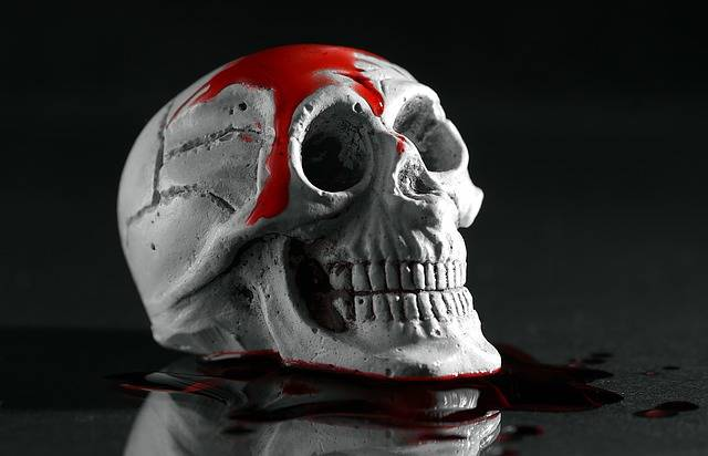 Murder Skull Blood - Free photo on Pixabay (703461)