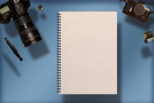 Digital Camera Notebook - Free photo on Pixabay (703467)