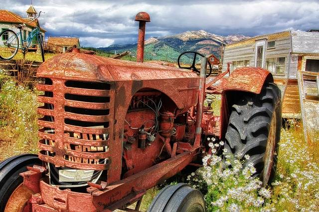 Tractor Old Antique - Free photo on Pixabay (703828)