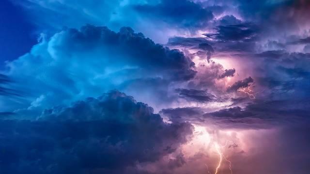 Thunderstorm Flashes Flash - Free photo on Pixabay (705019)
