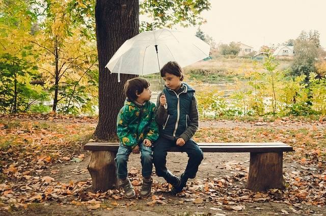 Umbrella Kids Rain - Free photo on Pixabay (705473)