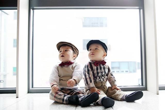 Twins Baby Children'S - Free photo on Pixabay (705482)