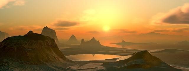 Landscape Mountains Sun - Free image on Pixabay (705759)