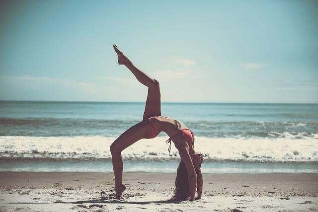 Beach Yoga Athlete - Free photo on Pixabay (705765)