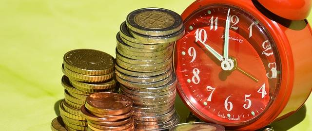 Time Is Money Coins Currency - Free photo on Pixabay (705793)