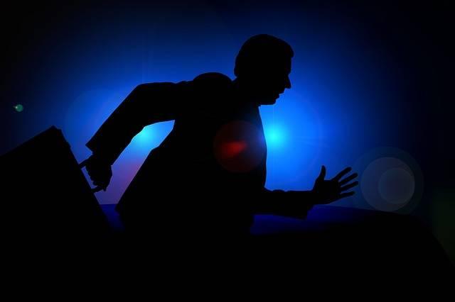 Man Silhouette Businessman - Free image on Pixabay (706471)