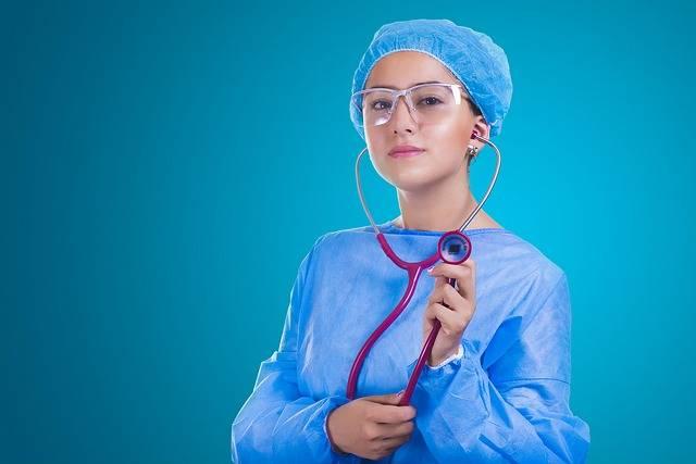 Nurse Stethoscope Medicine - Free photo on Pixabay (706613)