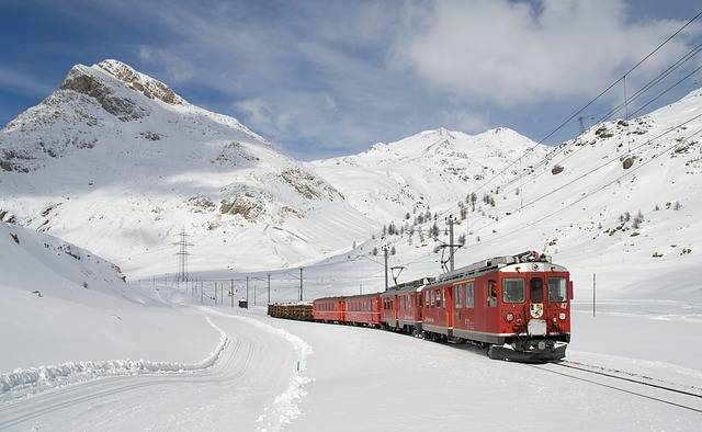 Railway Bernina Lagalb - Free photo on Pixabay (708189)