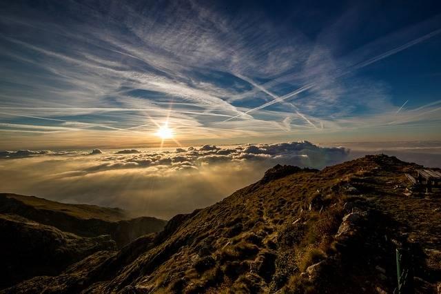 Dawn Sun Mountain - Free photo on Pixabay (709037)