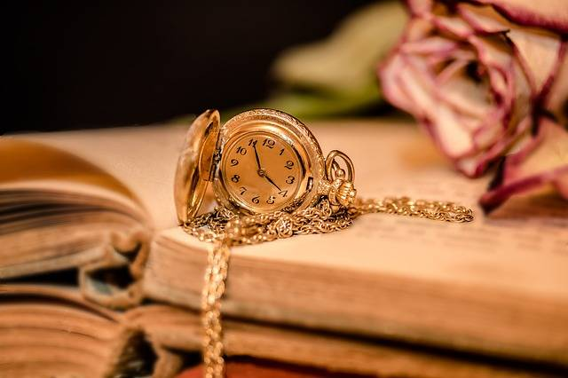 Clock Ladies Pocket Watch Time - Free photo on Pixabay (709535)