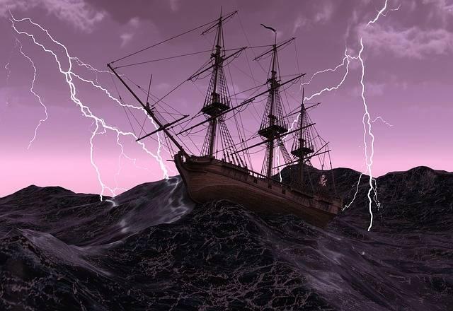 Ship Sailing Vessel Old Pirate - Free image on Pixabay (710798)
