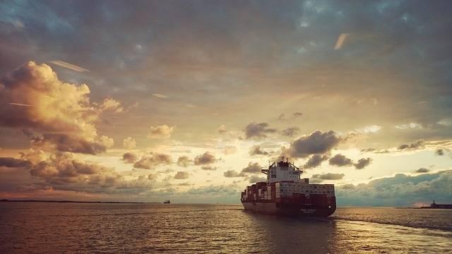 Ship Sea Sunset - Free photo on Pixabay (710813)