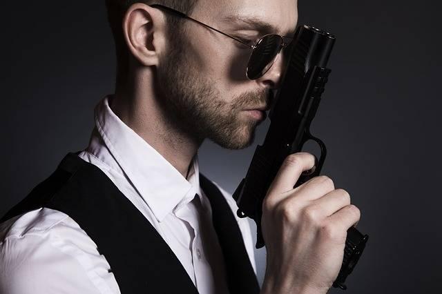 Man Gun Gangster - Free photo on Pixabay (711544)