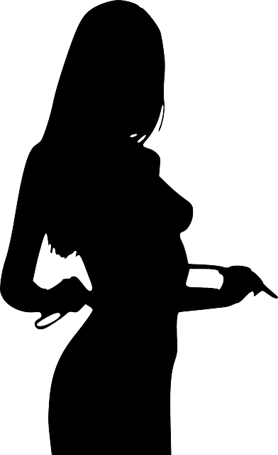 Silhouette Human Woman - Free vector graphic on Pixabay (711883)
