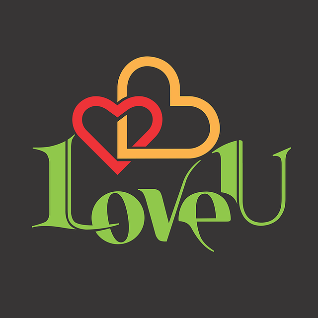 Love You Print On T-Shirt I - Free vector graphic on Pixabay (716095)