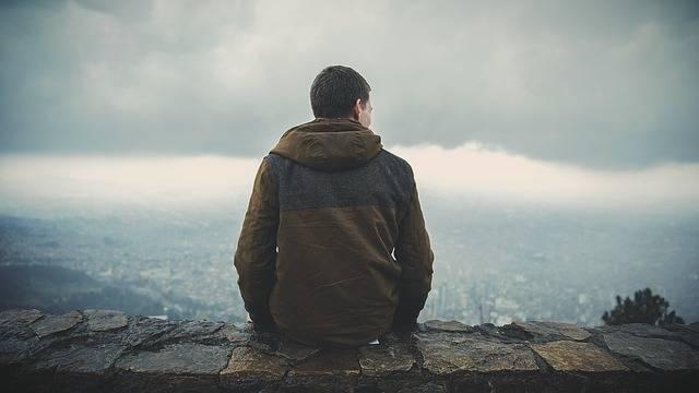 Man Sitting Back - Free photo on Pixabay (716218)