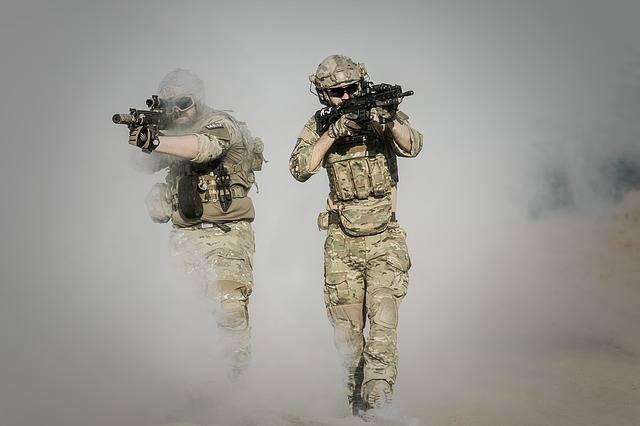 War Desert Guns - Free photo on Pixabay (716328)