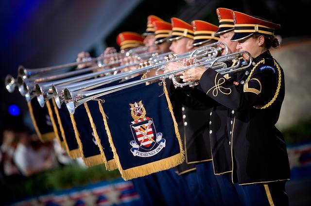 Trumpeters Heralds Soldiers - Free photo on Pixabay (716335)
