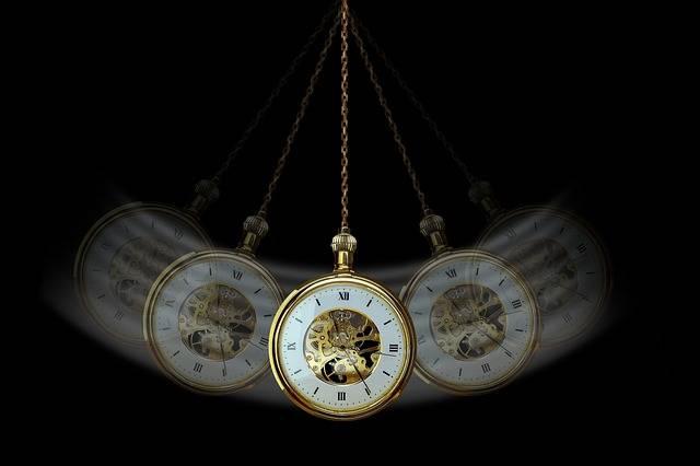 Hypnosis Clock Pocket Watch - Free photo on Pixabay (717783)