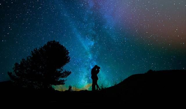 Human Lovers Night Sky Starry - Free photo on Pixabay (717879)