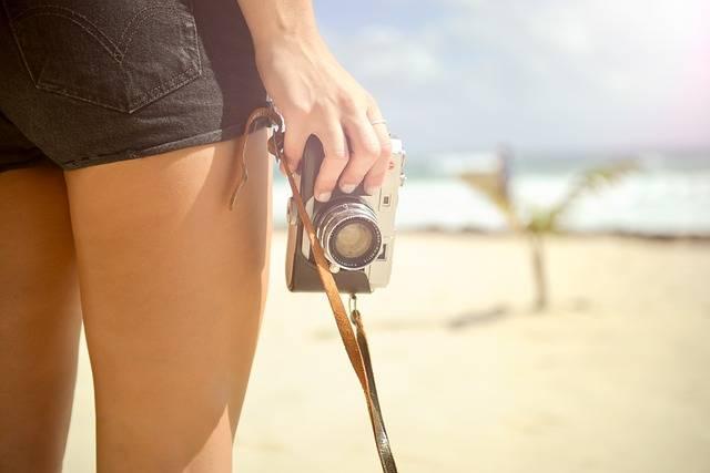 Girl Camera Vintage - Free photo on Pixabay (719134)