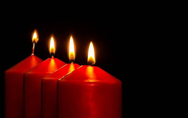 Advent Candles Christmas - Free photo on Pixabay (720297)