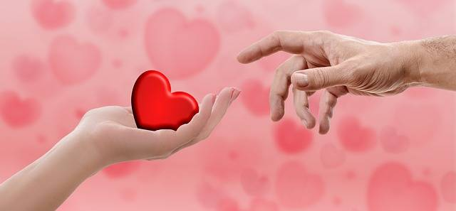 Heart Valentine'S Day Hand - Free photo on Pixabay (720331)