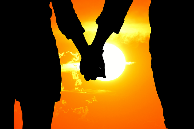 Lovers Silhouette Sunset - Free photo on Pixabay (720335)