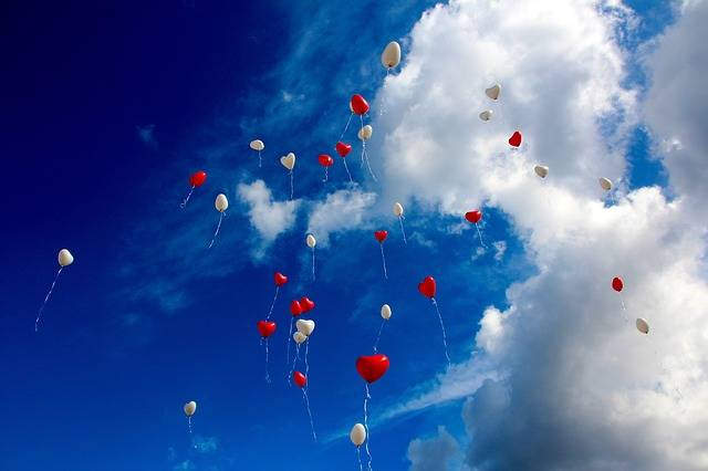 Balloon Heart Love - Free photo on Pixabay (722767)