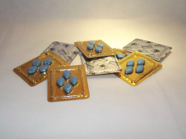 Viagra Tablets Medicine Blue - Free photo on Pixabay (723387)