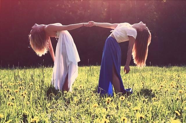 Girls Lesbians Best Friends - Free photo on Pixabay (723919)