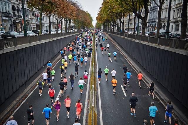 Street Marathon Running - Free photo on Pixabay (724064)