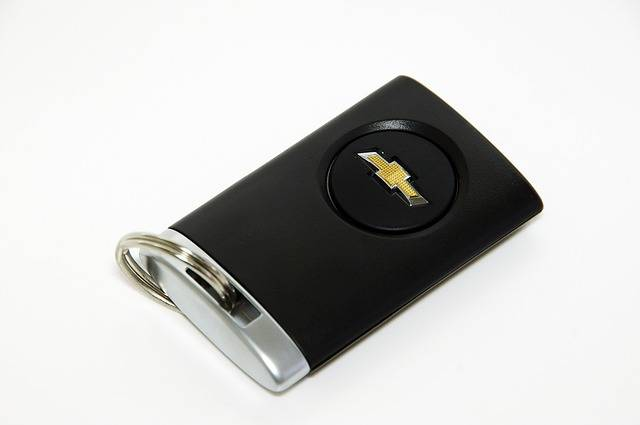Chevrolet Smart Key Car Keys - Free photo on Pixabay (724267)