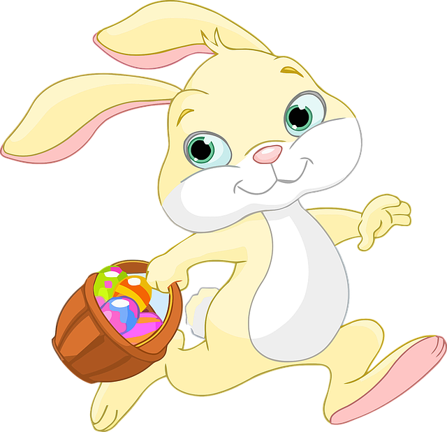 Easter Bunny Rabbit - Free vector graphic on Pixabay (724671)