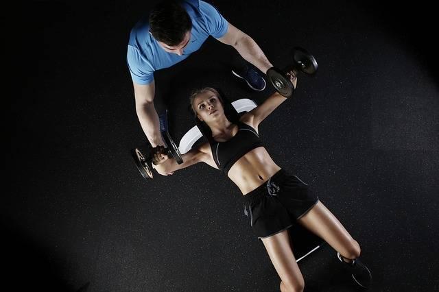 Sport Strength Training Woman - Free photo on Pixabay (724830)