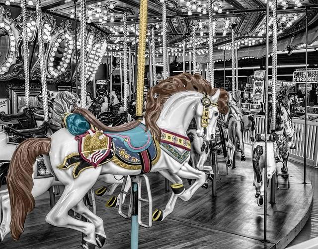 Carousel Merry-Go-Round Roundabout - Free photo on Pixabay (726772)