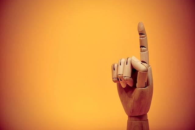 Finger Forefinger Gesture - Free photo on Pixabay (727490)