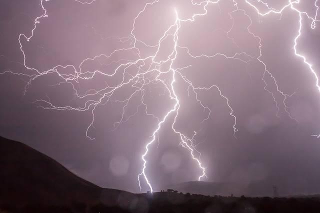 Lightning Storm Weather - Free photo on Pixabay (727500)