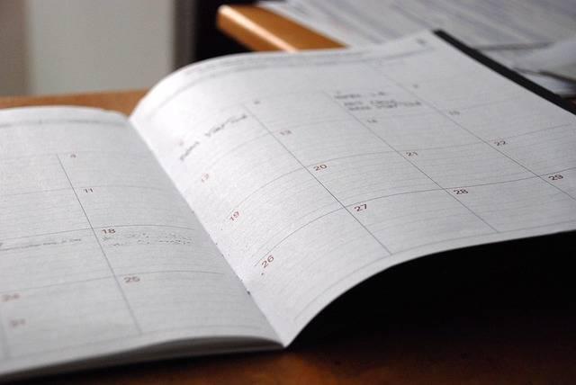 Day Planner Calendar Organizer - Free photo on Pixabay (728287)
