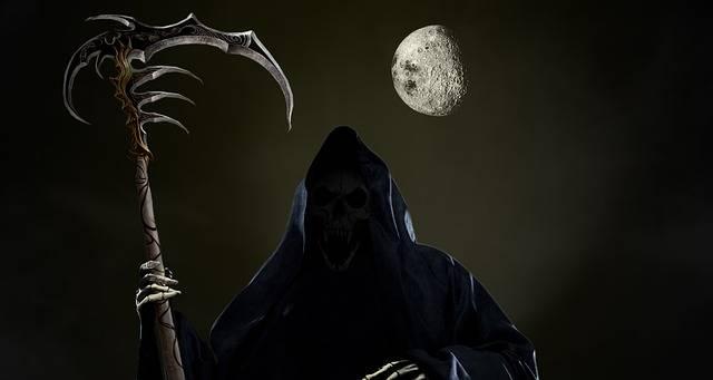 Skull Grim Reaper - Free image on Pixabay (728707)