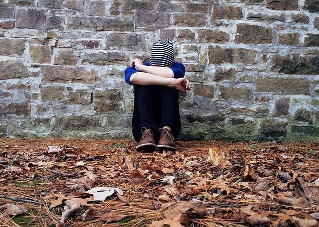 Lonely Hiding Sad - Free photo on Pixabay (730088)