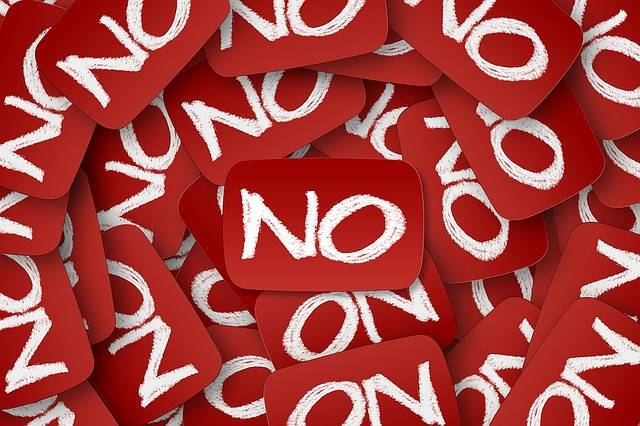 No Negative Many - Free image on Pixabay (730867)