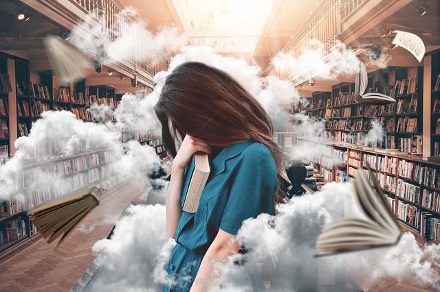 Woman Library Books - Free photo on Pixabay (731068)