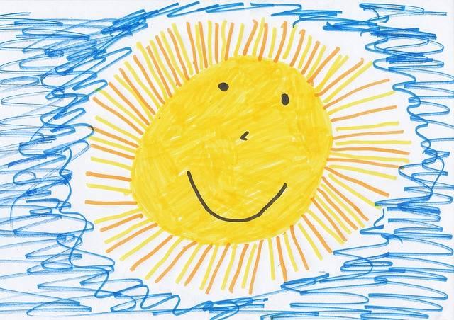 Sun Children Drawing Image - Free photo on Pixabay (732903)