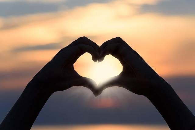 Heart Love Sunset - Free photo on Pixabay (733331)